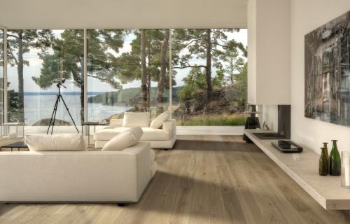 Oak Nouveau White interiørbilde