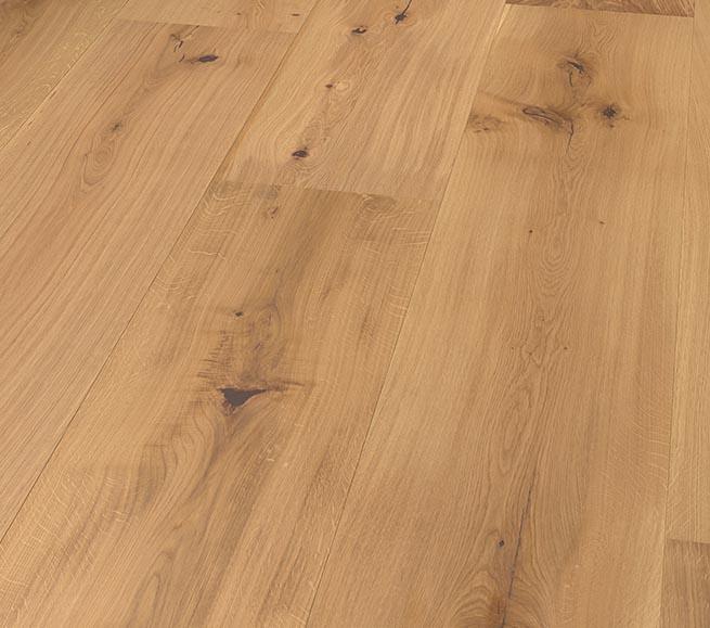 Massivt Eik Wide Plank Ubehandlet - Boa Flooring GC24