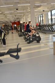 Russia, Mytischtschi, Fitness Club Fizika